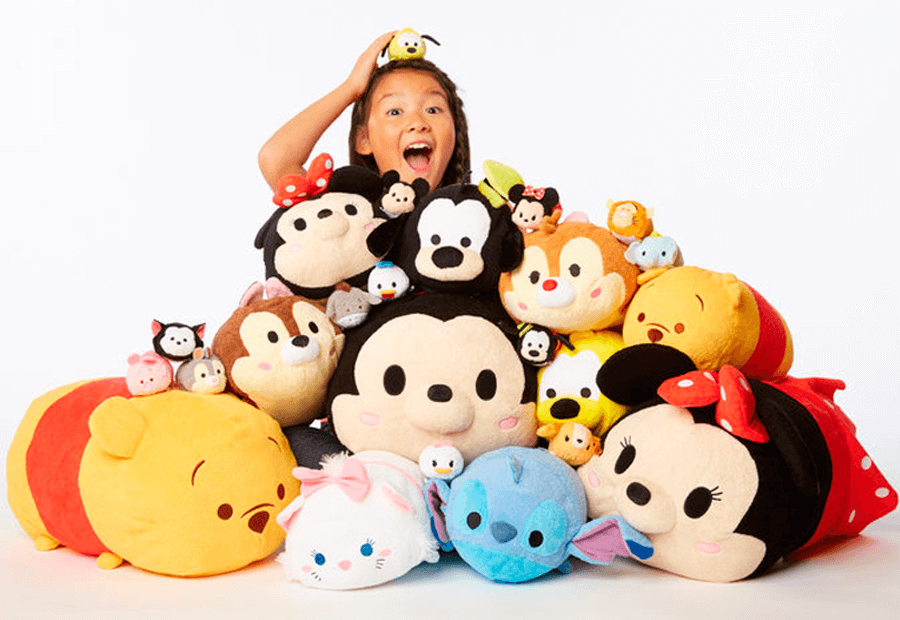 Disney Tsum Tsum on Letter O Coloring Pages