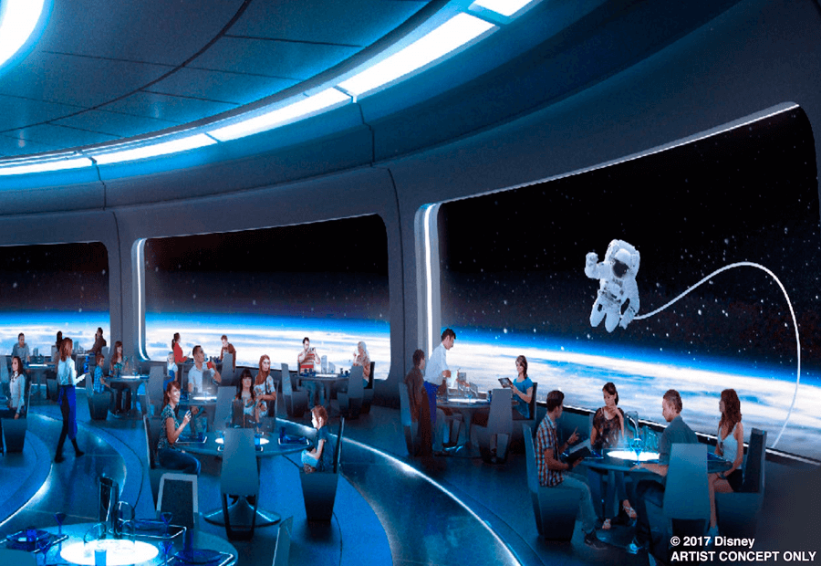 El futuro restaurante de Mission: Space en Disney World