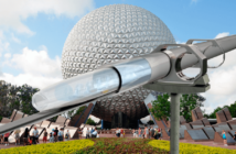 Art Concept Hyperloop en Disney World